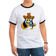 Country-Guitar-Penguin-Scarf T