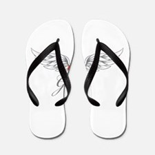 Angel Wings Grace Flip Flops