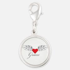 Angel Wings Grace Charms