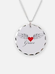Angel Wings Grace Necklace