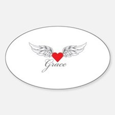 Angel Wings Grace Bumper Stickers