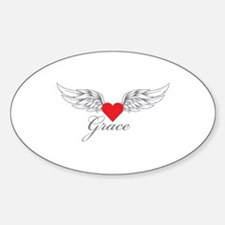 Angel Wings Grace Decal