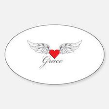 Angel Wings Grace Decal
