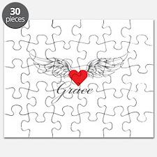 Angel Wings Grace Puzzle