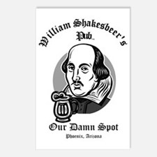 William Shakesbeer Our Da Postcards (Package of 8)