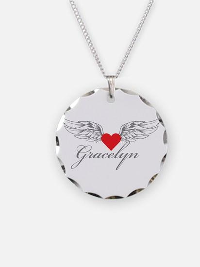 Angel Wings Gracelyn Necklace