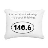 Ironman 140.6 Rectangle Canvas Pillows
