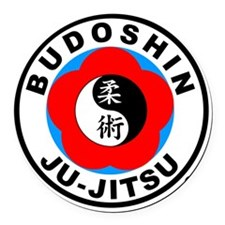 BJJ4in Round Car Magnet