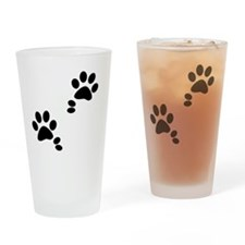 Double Dews Drinking Glass