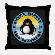 Ruffle the Feathers Throw Pillow