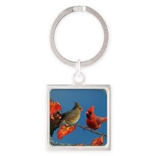 note card -front Square Keychain