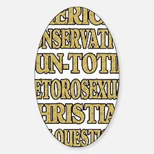 QUERSTIONS2 Sticker (Oval)