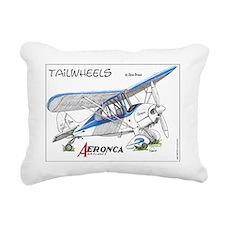 Aeronca airplanes cartoo Rectangular Canvas Pillow