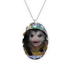 Possum Birthday Card - Hey The Necklace
