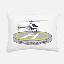 runways Rectangular Canvas Pillow