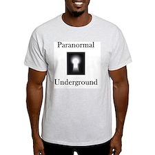 on black T-Shirt