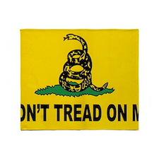 dont tread yard sign Throw Blanket