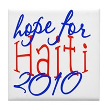 2-haiti4 Tile Coaster