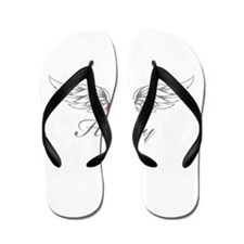 Angel Wings Hadley Flip Flops