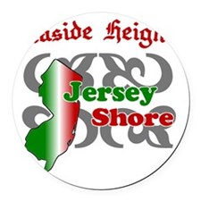 seaside-heights-new-jersey Round Car Magnet
