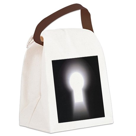 logo only Canvas Lunch Bag