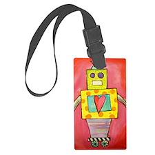 Love Robot Luggage Tag