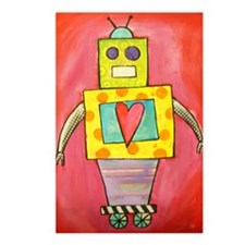 Love Robot Postcards (Package of 8)