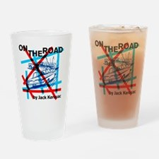 On the Road - Kerouac Drinking Glass