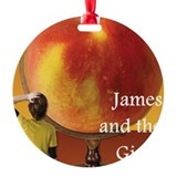 James and the giant peach Round Ornament