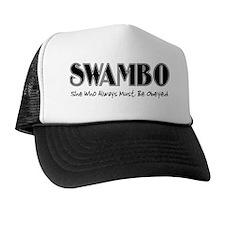 swambo-blk Trucker Hat