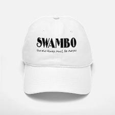 swambo-blk Baseball Baseball Cap
