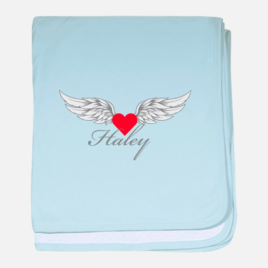 Angel Wings Haley baby blanket