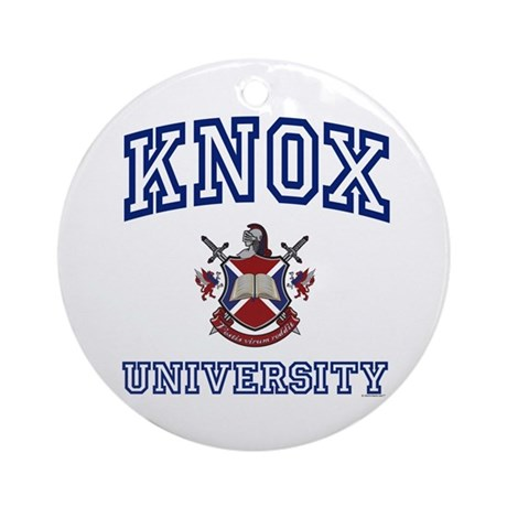 KNOX University Ornament (Round)