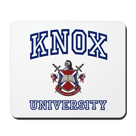 KNOX University Mousepad