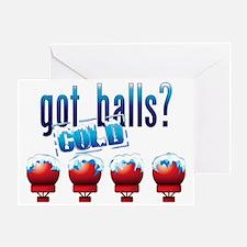 ColdBalls_lite_crop Greeting Card