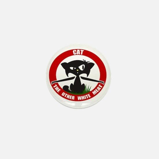 cattheotherwhitemeat.gif Mini Button