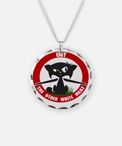 cattheotherwhitemeat.gif Necklace