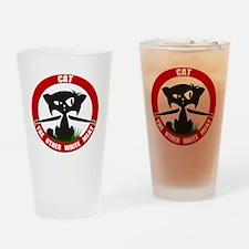 cattheotherwhitemeat.gif Drinking Glass
