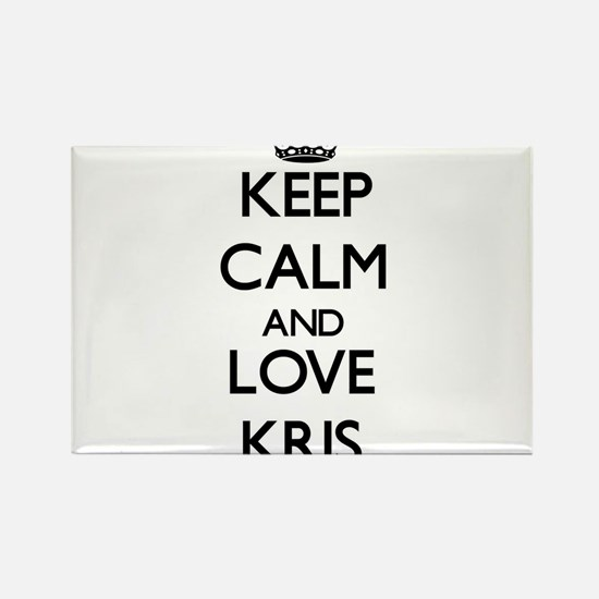Keep Calm and Love Kris Magnets