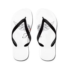 Angel Wings Hallie Flip Flops