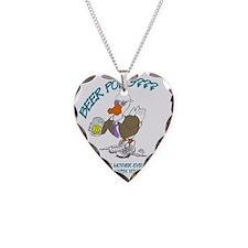 BEERPONGDK Necklace Heart Charm
