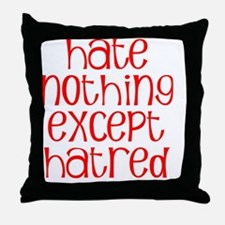 hatenotW Throw Pillow