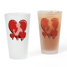 03Detective12x12 Drinking Glass