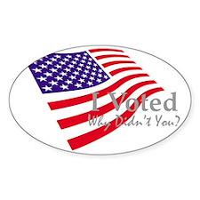 nIvotedFlag4DK Decal