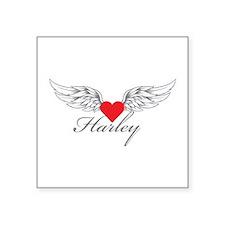 Angel Wings Harley Sticker