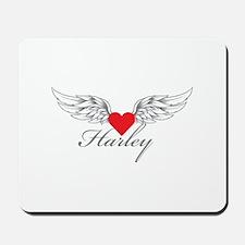 Angel Wings Harley Mousepad