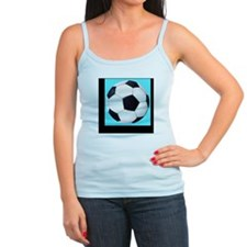 soccer_ball_light_blue Jr.Spaghetti Strap