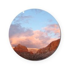 Sedona at Sunset Cork Coaster