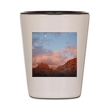 Sedona at Sunset Shot Glass