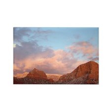Sedona at Sunset Rectangle Magnet